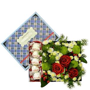 Сладкая жизнь +30% цветов с доставкой в Уссурийске