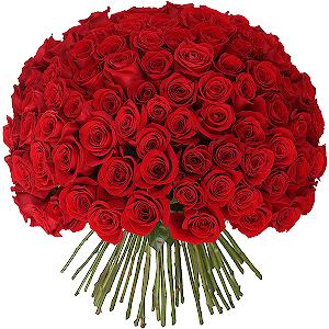Букет из 101 красной розы с доставкой в Уссурийске