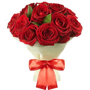 Букет из 11 красных роз с доставкой в Уссурийске